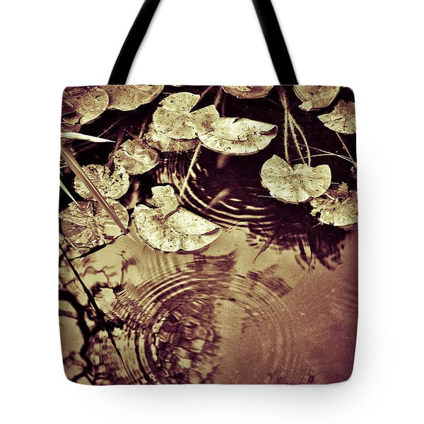 Golden Pond Tote Bag by Silvia Ganora