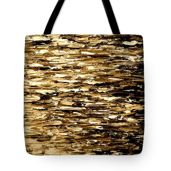Golden Reflections Tote Bag by Kume Bryant