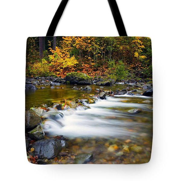 Golden Shores Tote Bag by Mike  Dawson