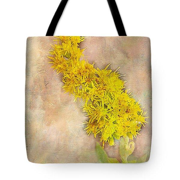 Goldenrod Tote Bag by Judi Bagwell