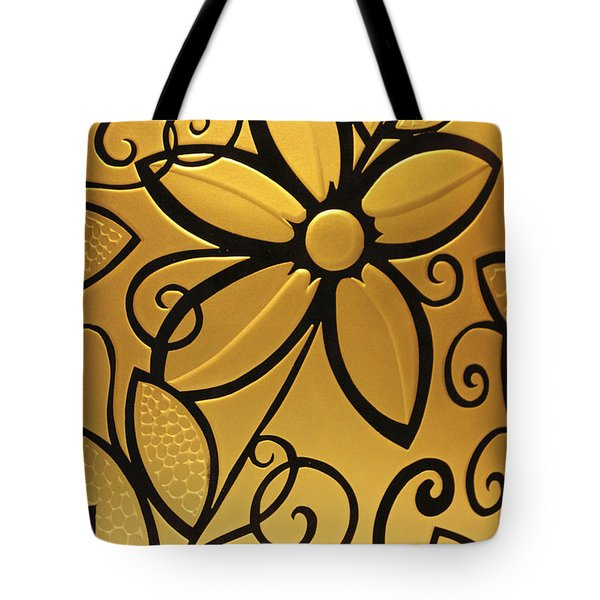 Goldenrod Tote Bag by Shelley Neff