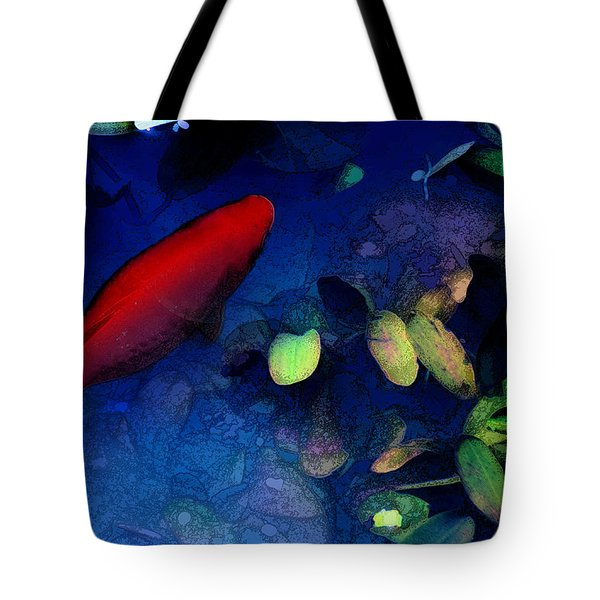 Goldfish Tote Bag by Ron Jones