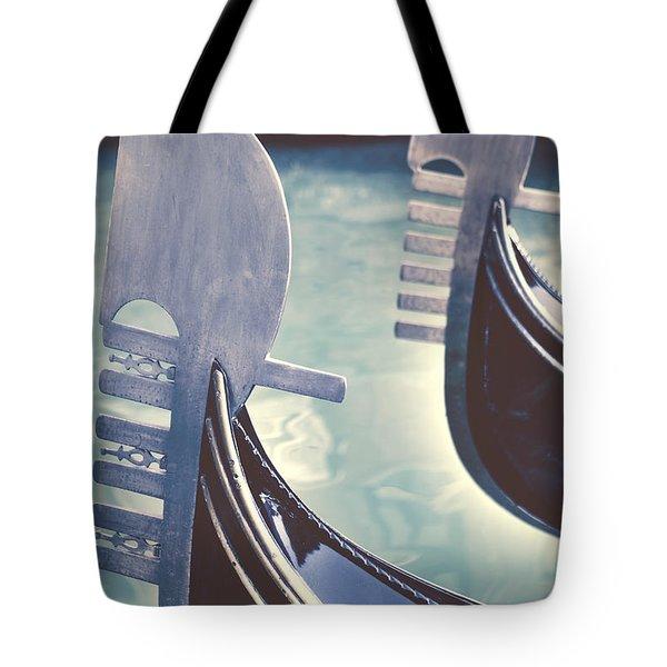 gondolas - Venice Tote Bag by Joana Kruse