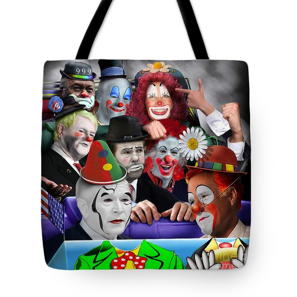 Gop - The Greatest Show On Earth Tote Bag by Reggie Duffie