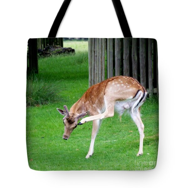 Got An Itch Tote Bag by Isabella Abbie Shores