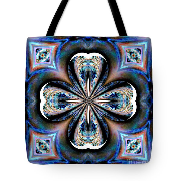 Gothic Blues Tote Bag by Maria Urso