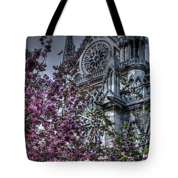 Gothic Paris Tote Bag by Jennifer Ancker