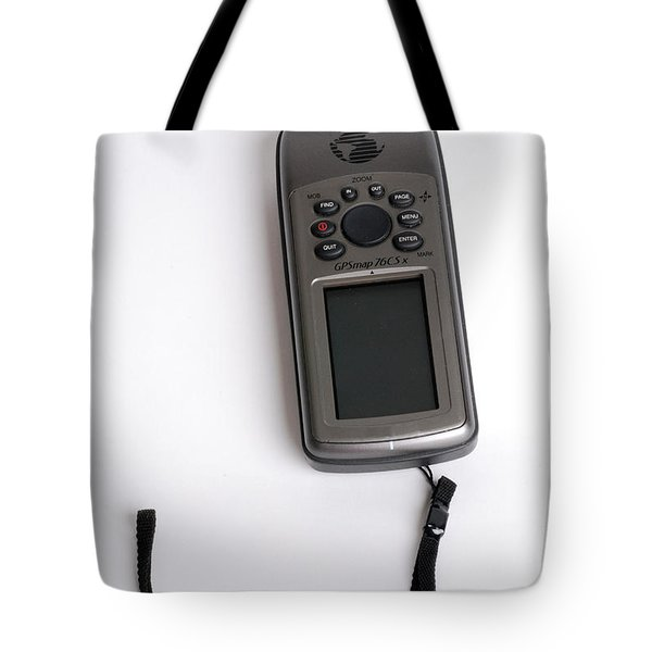 Gps Tote Bag by Photo Researchers, Inc.