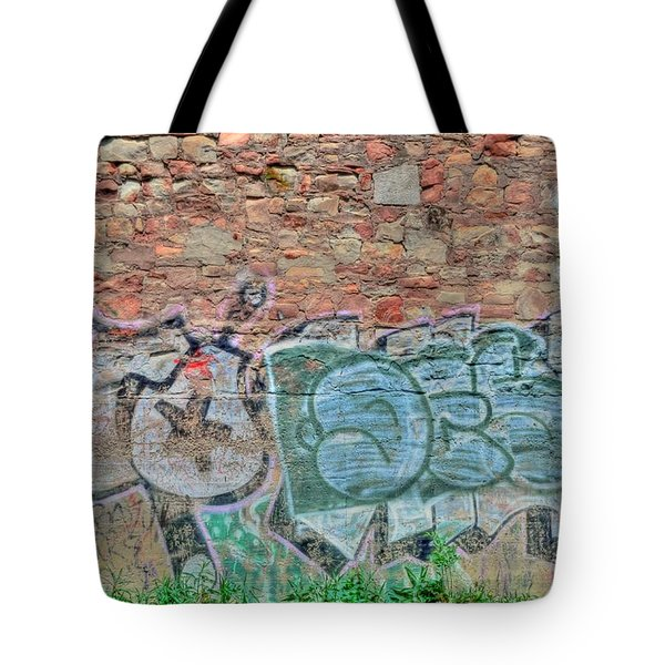 Graffiti Tote Bag by Kathleen Struckle