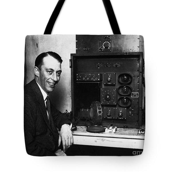 Graham Mcnamee (1888-1942) Tote Bag by Granger