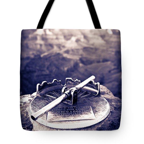 Grand Canyon - Sight Tube Tote Bag by Scott Sawyer