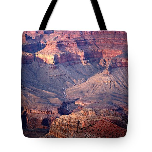 Grand Canyon Evening Interior Tote Bag by Michael Kirsh