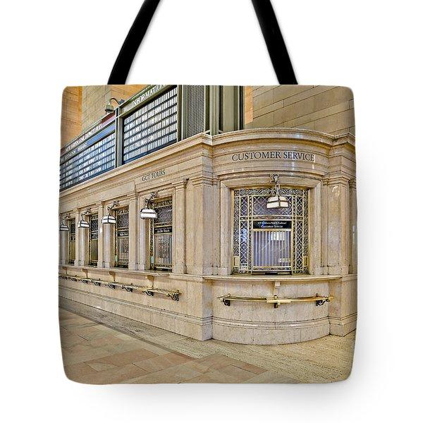 Grand Central Terminal Tote Bag by Susan Candelario