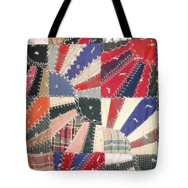 Grandma Baird's Quilt Tote Bag by Wayne Potrafka
