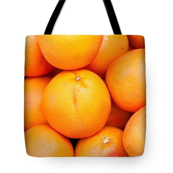 Grapefruit Tote Bag by Tom Gowanlock