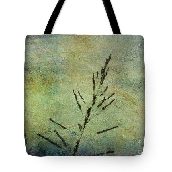 Grass Stem Tote Bag by Judi Bagwell