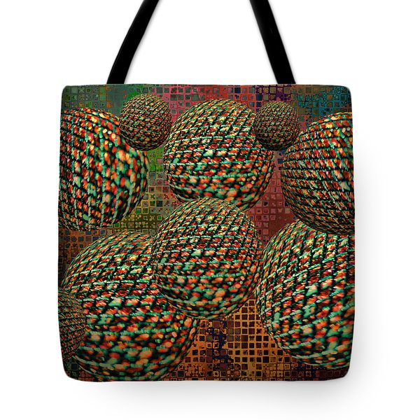 Gravity Chamber Tote Bag by Debbie Portwood