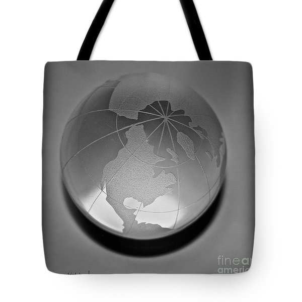 Gray Tote Bag by Susan Herber
