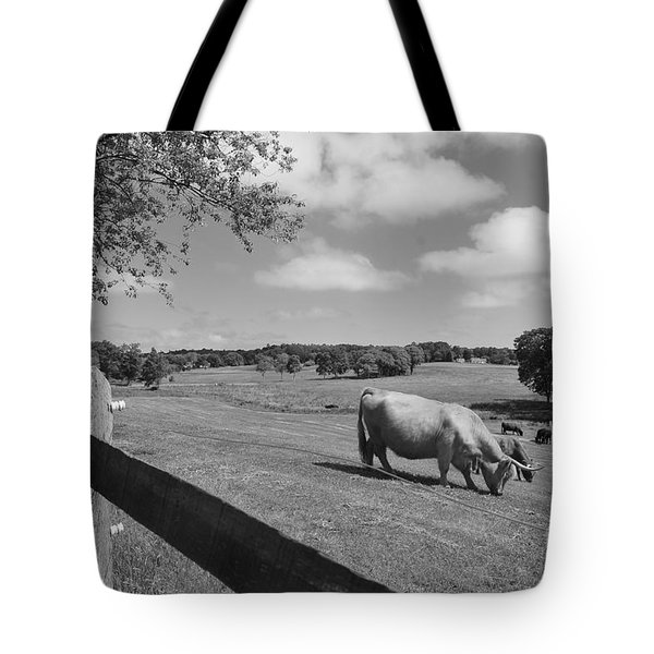 Grazing The Day Away Tote Bag by Catherine Reusch  Daley