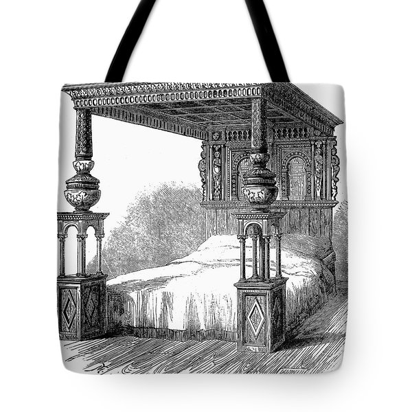 Great Bed Of Ware, C1590 Tote Bag by Granger