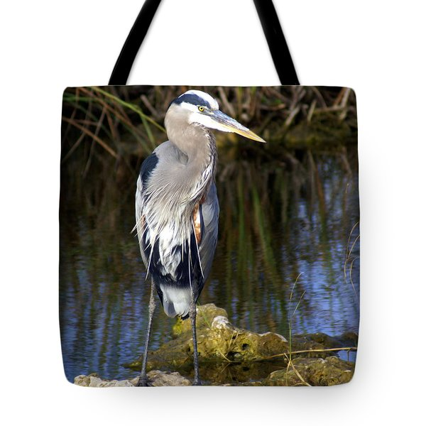Great Blue Tote Bag by Marty Koch