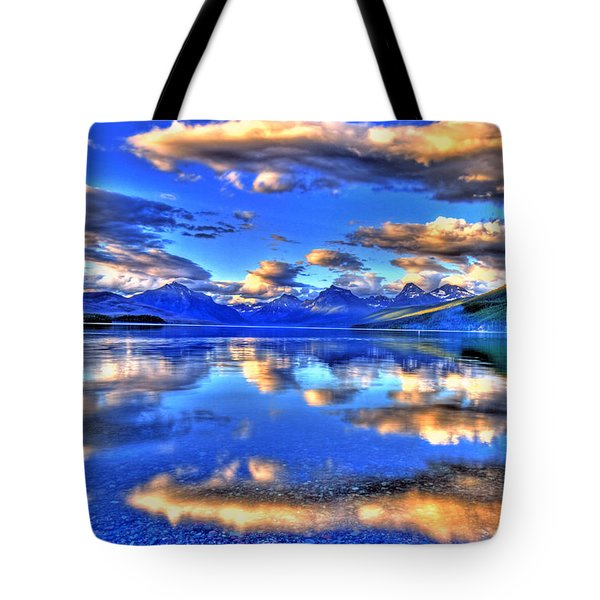 Great Glacier Lake Tote Bag by Scott Mahon