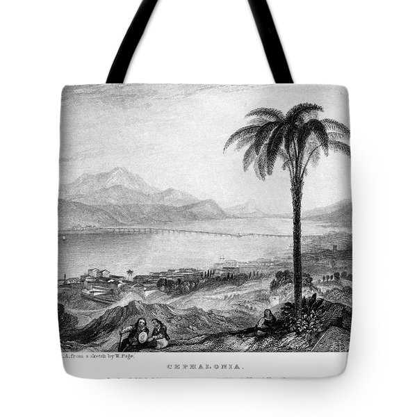 Greece: Kefalonia, 1833 Tote Bag by Granger