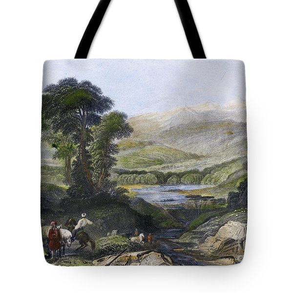 Greece: Mount Olympus Tote Bag by Granger