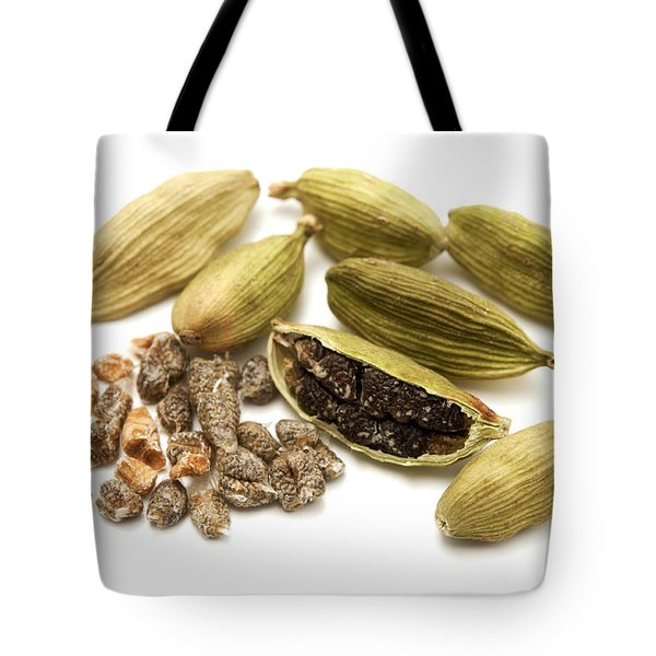 Green Cardamom Tote Bag by Fabrizio Troiani