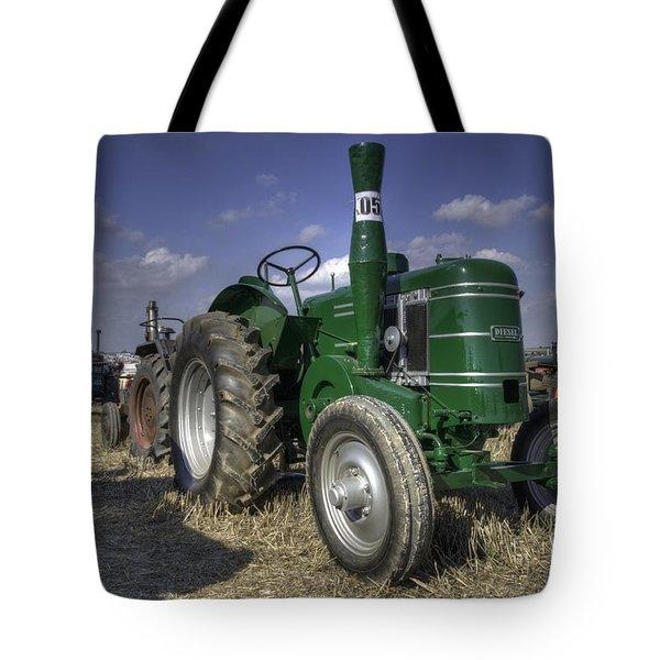 Green Field Marshall Tote Bag by Rob Hawkins