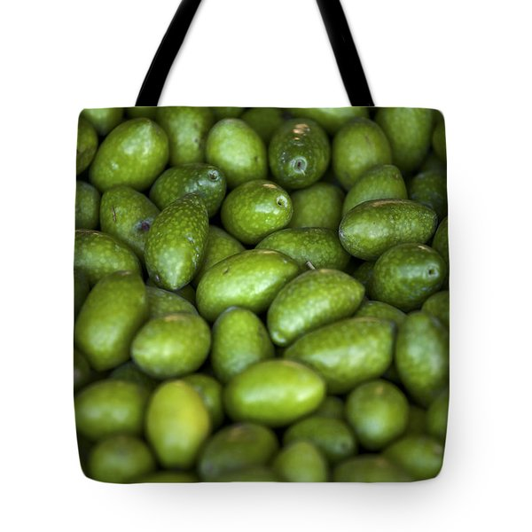 green olives Tote Bag by Joana Kruse