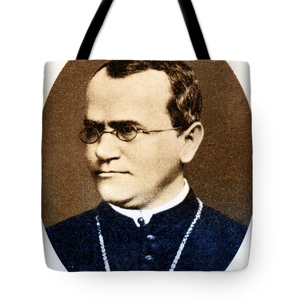 Gregor Mendel, Father Of Genetics Tote Bag by Science Source