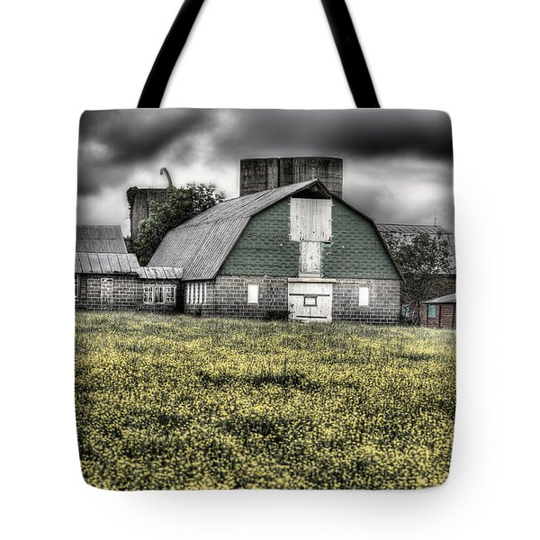 Grey Scale Tote Bag by JC Findley