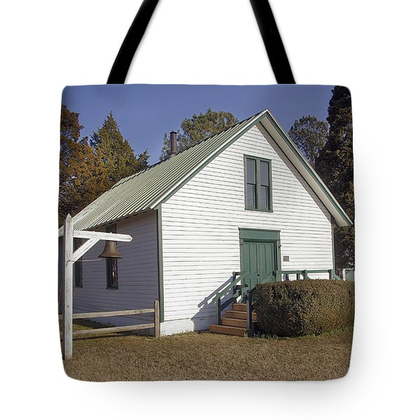 Griffiths Chapel 1850 Tote Bag by Brian Wallace