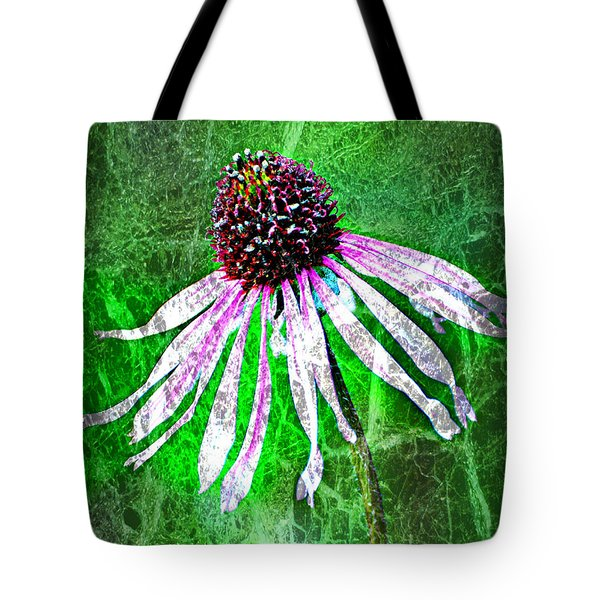 Gritty Coneflower Tote Bag by Marty Koch