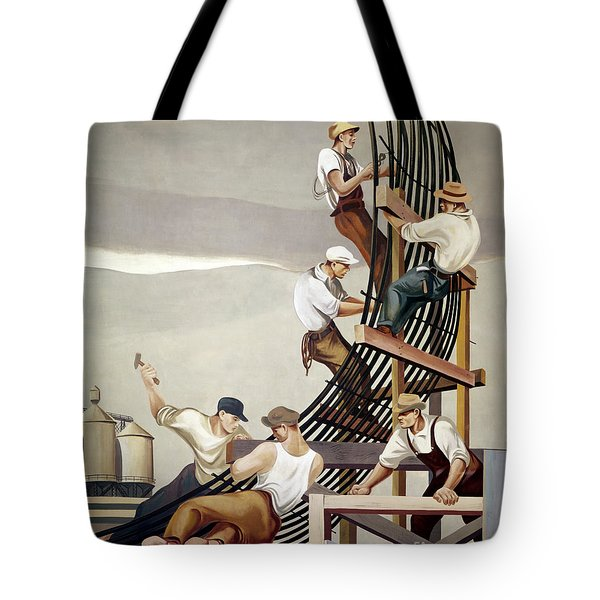 Gropper: Dam, 1939 Tote Bag by Granger