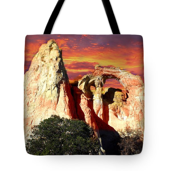 Grosvners Arch Tote Bag by Marty Koch