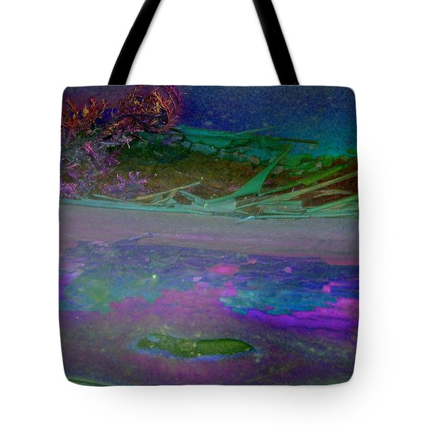 Tote Bag featuring the digital art Grow by Richard Laeton