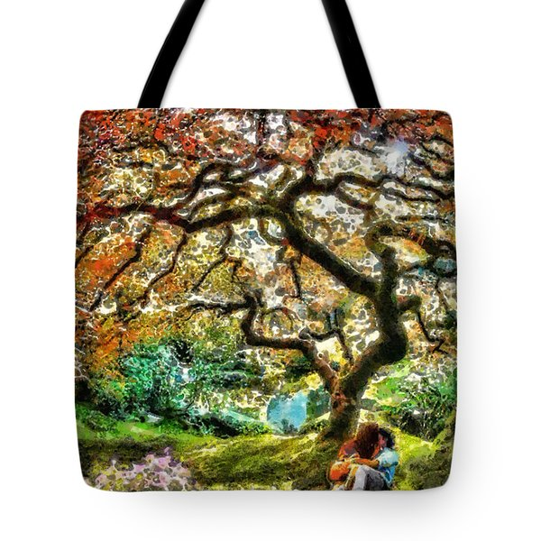 Growing Tote Bag by Mo T