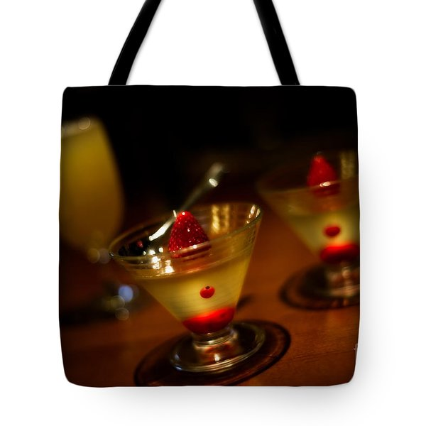 Grown-Up Jello Tote Bag by Venetta Archer
