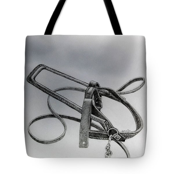 Guide Dog Harness Tote Bag by Hanne Lore Koehler