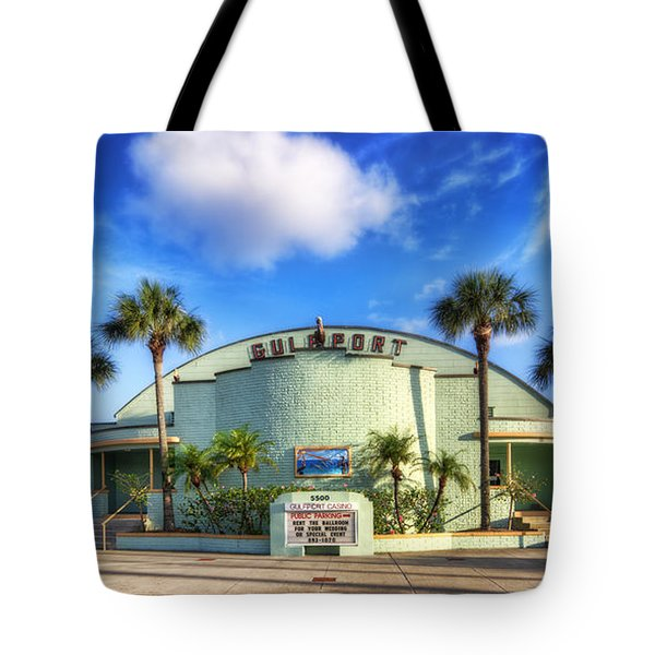 Gulfport Casino Tote Bag by Tammy Wetzel