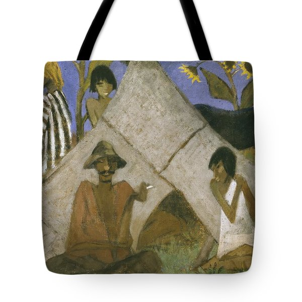 Gypsy Encampment Tote Bag by Otto Muller or Mueller