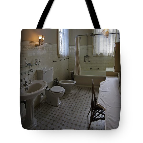 HAAS LILIENTHAL HOUSE VICTORIAN BATH - SAN FRANCISCO Tote Bag by Daniel Hagerman