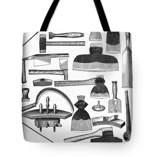 Hand Tools, 1876 Tote Bag by Granger
