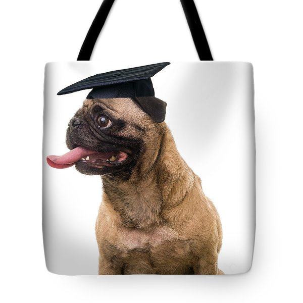 Happy Graduation Tote Bag by Edward Fielding