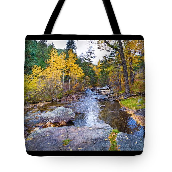 Happy Place In The Woods Panorama Poster  Tote Bag by James BO  Insogna