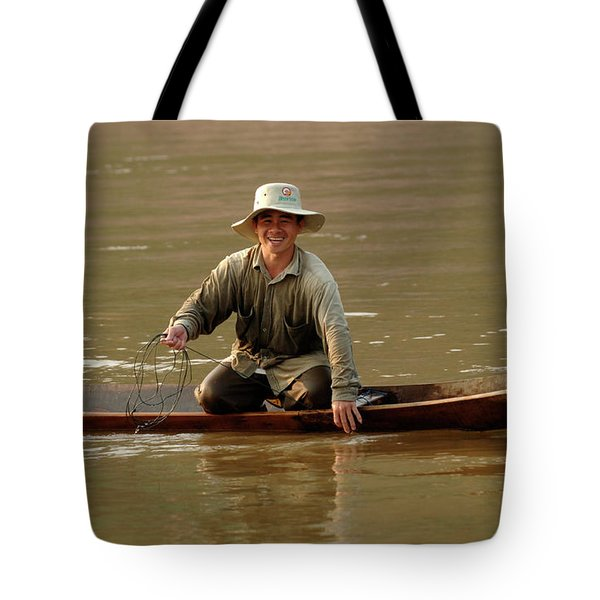 Happy To See You Tote Bag by Bob Christopher