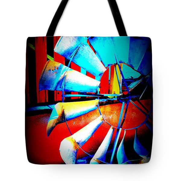 Harlequin Wind Tote Bag by Diane montana Jansson