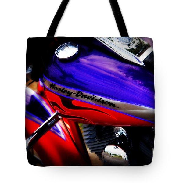 Harley Addiction Tote Bag by Susanne Van Hulst